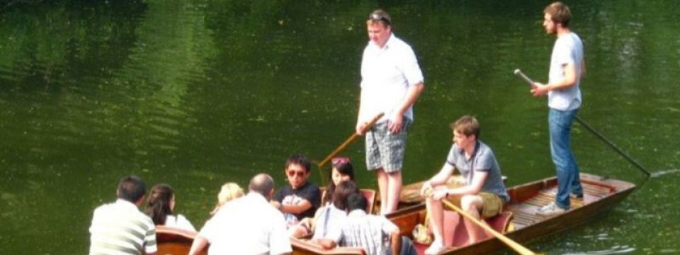 Group Punting in Oxford